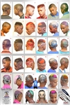 unisex hairstyles poster