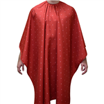 barber shield red cape