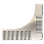 metal beard comb and shaper