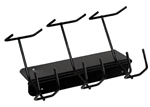 barbermate clipper rack 3 slot