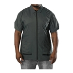 barber strong jacket gray