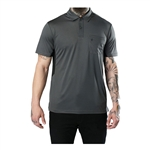 barber strong polo gray
