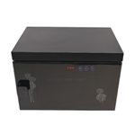 uv sterilization box black