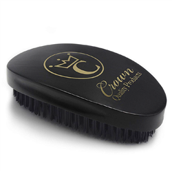 gold caesar brush medium bristles black