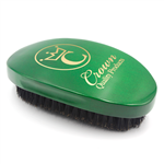 gold caesar brush soft bristles green