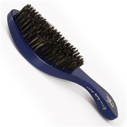 gold crown brush blue