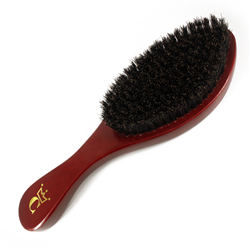 gold crown brush red
