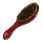 premium gold crown brush burgundy