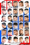2014HM Men's Hairstyles Barber Poster