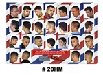 20hm mens haircut poster