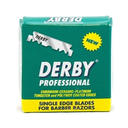 Replacement Derby Single Edge Straight Razor Blades