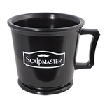 scalpmaster rubber shaving mug