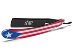 MD® Puerto Rico Shave Ready Straight Razor (Black)