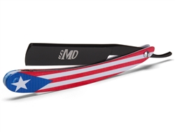 MD Puerto Rico Shave Ready Straight Razor (Black)