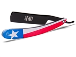 MD® Texas Shave Ready Straight Razor (Black)