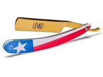 MD® Texas Shave Ready Straight Razor (Gold)