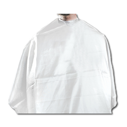 standard barber cape white