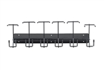 6 slot barber buddy clipper rack
