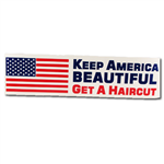 keep america beautiful bumper sticker