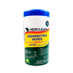 herclean disinfecting wipes