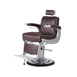 diamond stitch barber chair