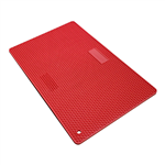 silicone tool mat red